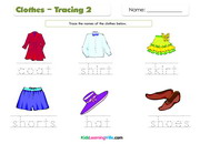 Clothes tracing 2
