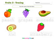 Fruits tracing 2