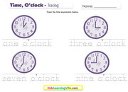 Time oclock tracing