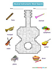 Music Wordsearch