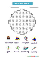 Sport Wordsearch