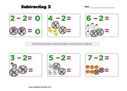 Subtraction of 2