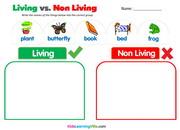 Living non living